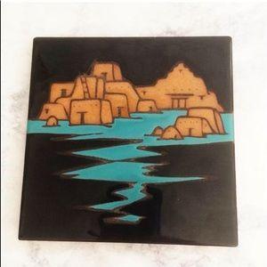 Other - Mag Mor Studios Vintage Southwestern Tile